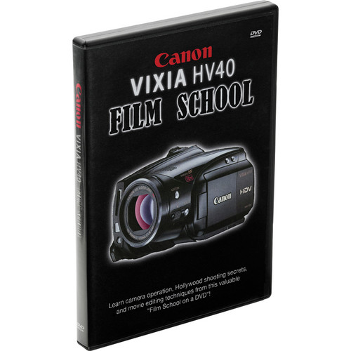 Canon DVD: HV40 Instructional Video