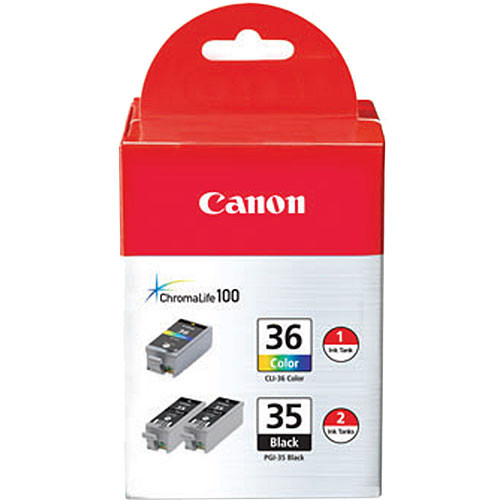 Canon Twin PGI-35 Black and CLI-36 Color Ink Tanks
