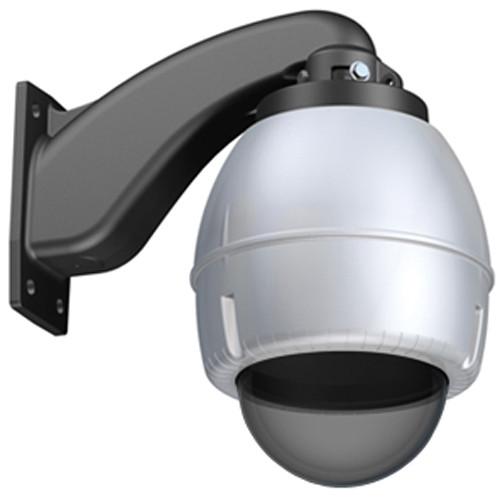 """Canon 5"""" Wall-mountable Outdoor Dome Housing (Silver, Tinted Bubble)"""