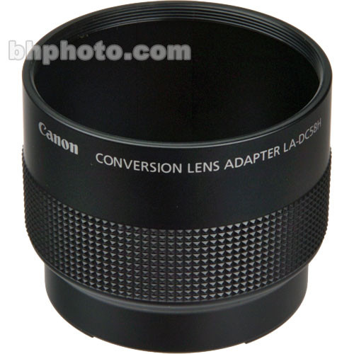 Canon LA-DC58H Lens Adapter