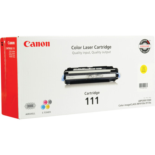 Canon 111 Yellow Toner Cartridge