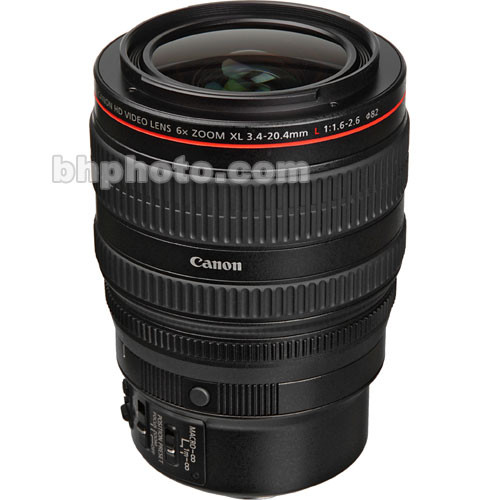 Canon 3.4-20mm 6x XL Wide Angle Zoom HD Lens for the Canon XL H1