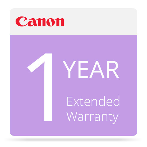 Canon 1-Year Extended Warranty For Canon imagePROGRAF iPF6300S Printers