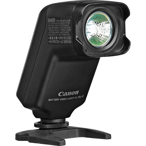 Canon VL-10Li II On Camcorder Battery Video Light