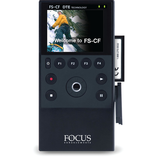 Canon FS-CF Portable Compact Flash DTE Recorder