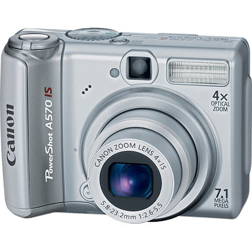 Canon PowerShot A570 IS Digital Camera