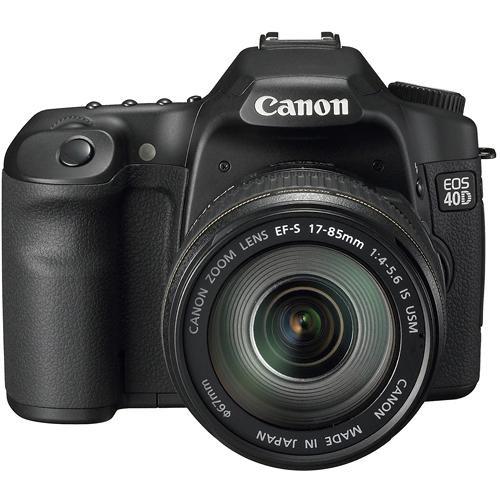 Canon EOS 40D SLR Digital Camera with Canon EF-S 17-85mm IS USM AF Lens