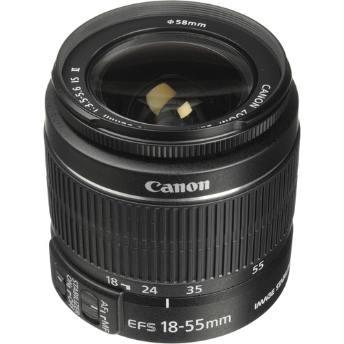 Canon EF-S 18-55mm f/3.5-5.6 IS II Lens (White Box)