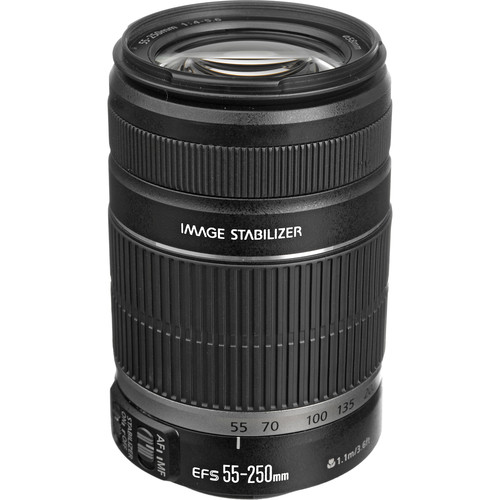 Canon EF-S 55-250mm f/4-5.6 IS II Lens (White Box)