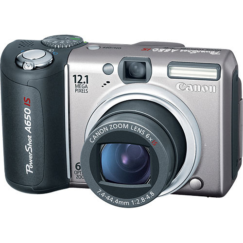 Canon PowerShot A650 IS Digital Camera