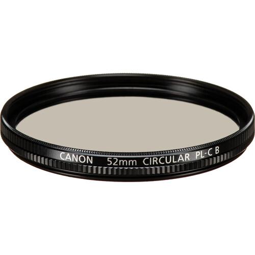 Canon 52mm Circular Polarizing Filter