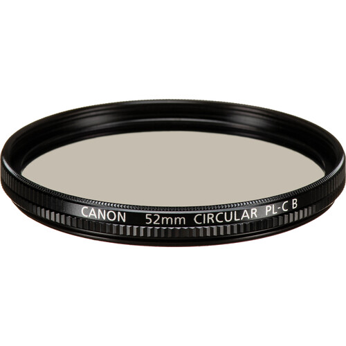 Canon 52mm Circular Polarizing Filter