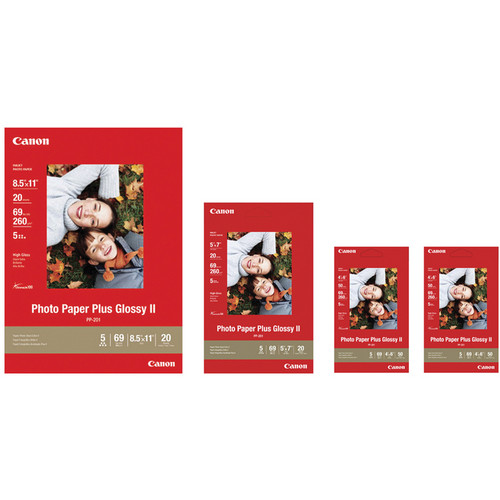 Canon Photo Paper Plus Glossy II Value Pack
