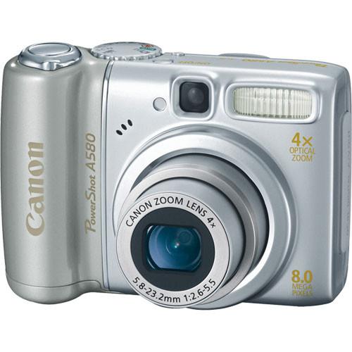 Canon PowerShot A580 Digital Camera