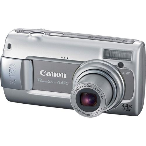 Canon Powershot A470 Digital Camera (Gray)