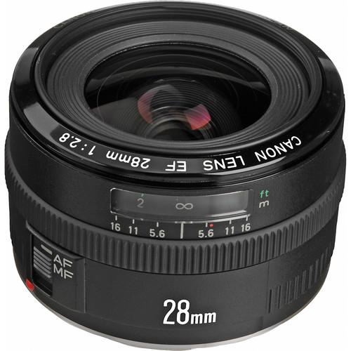 Canon Wide Angle EF 28mm f/2.8 Autofocus Lens