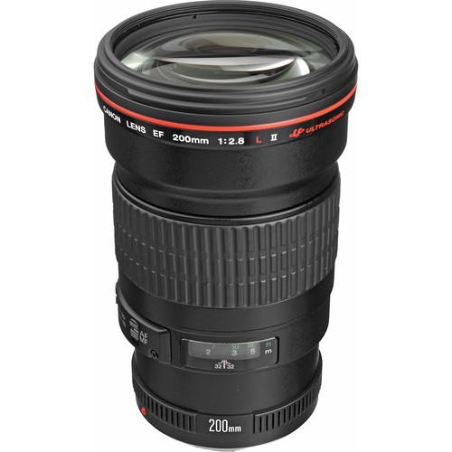 Canon EF 200mm f/2.8L II USM Lens