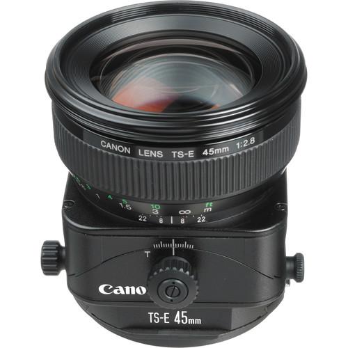 Canon TS-E 45mm f/2.8 Tilt-Shift Lens