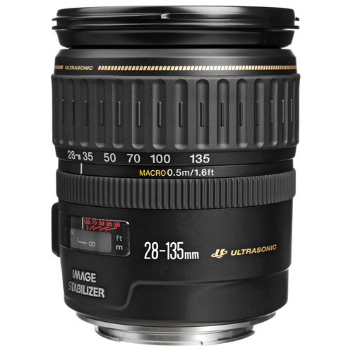 Canon 28-135mm f/3.5-5.6 IS EF USM Lens (White Box)