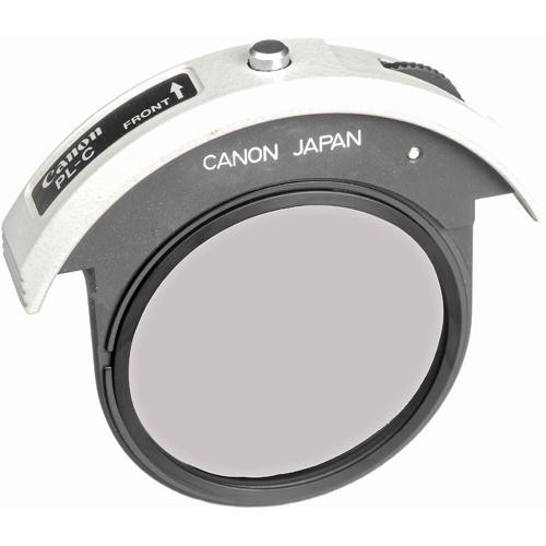 Canon 48mm Drop-in Holder with Circular Polarizing Glass Filter