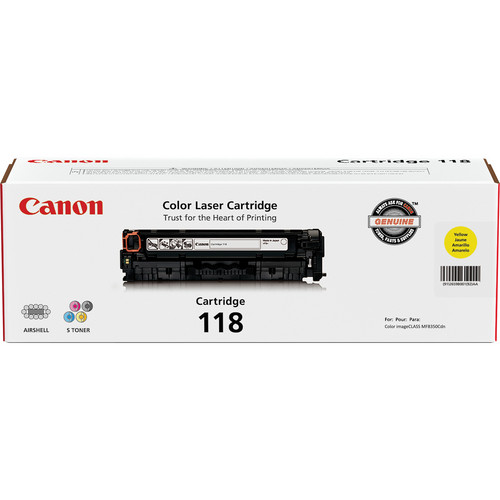 Canon 118 Ink Cartridge (Yellow)