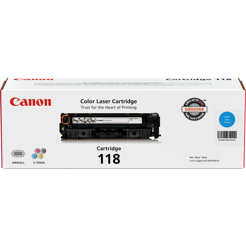 Canon 118 Ink Cartridge (Cyan)