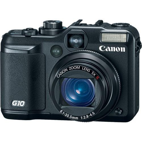 Canon PowerShot G10 Digital Camera (Black)