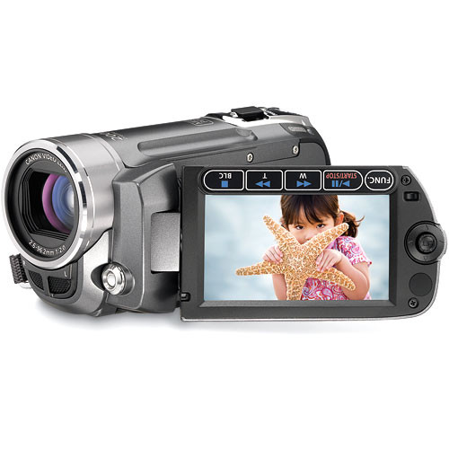 Canon FS-11 Dual Flash Memory Camcorder