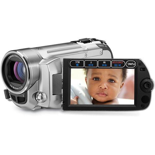 Canon FS-100 Flash Memory Camcorder (Silver)