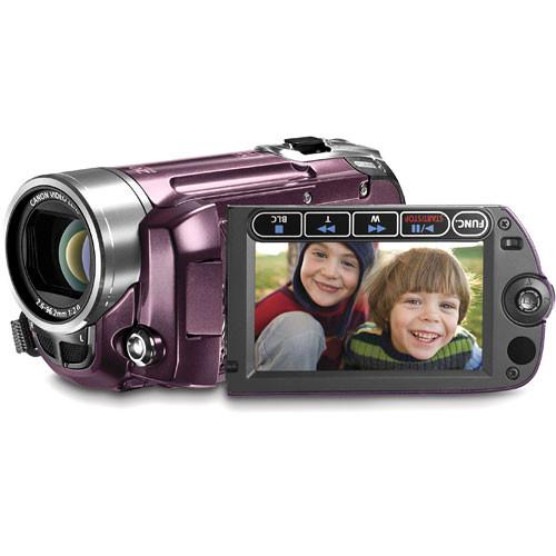 Canon FS-100 Flash Memory Camcorder (Garnet Wine)