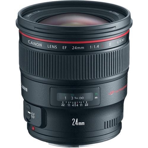 Canon EF 24mm f/1.4L II USM Lens