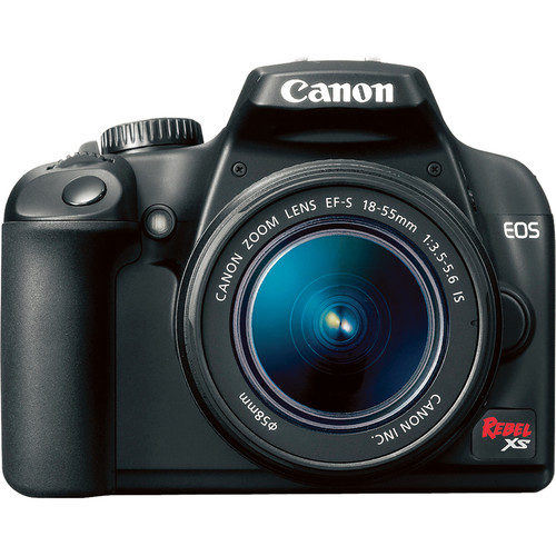 Canon EOS Rebel XS SLR Digital Camera (Black) with 18-55mm IS Lens Kit