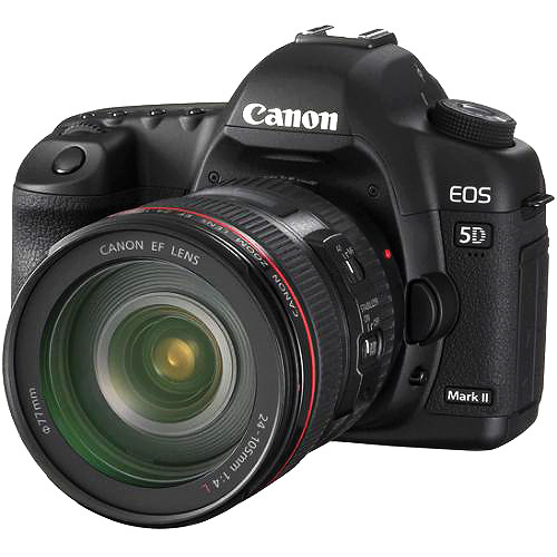 Canon EOS 5D Mark II DSLR Kit with Canon 24-105mm f/4L IS USM AF Lens