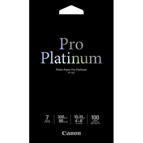 """Canon Pro Platinum Photo Paper 4 x 6"""" (100 Sheets)"""