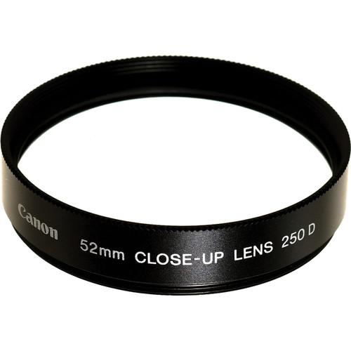 Canon 52mm 250D Close-up Lens