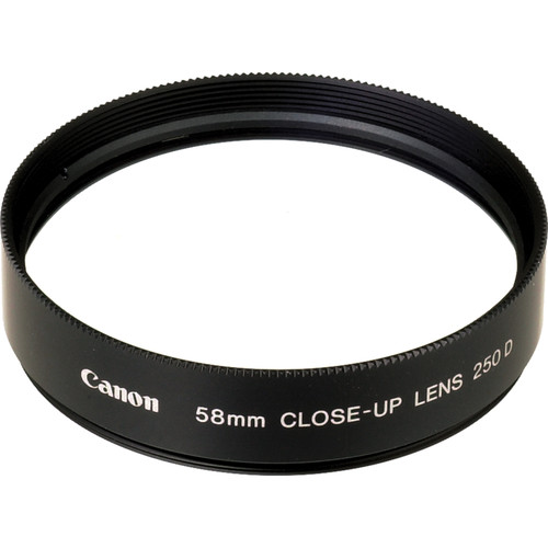 Canon 58mm 250D Close-up Lens