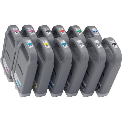 Canon PFI-701/PFI-702 12-Color Ink Set (700 ml)