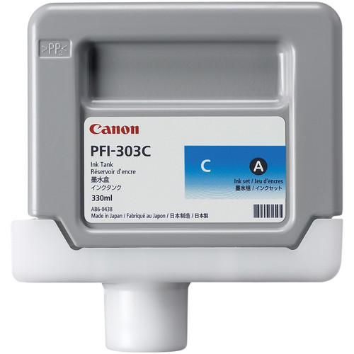 Canon PFI-303C Cyan Ink Tank (330 ml)