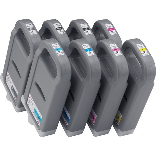 Canon PFI-701 8-Color Ink Set For Canon imagePROGRAF iPF8000S/iPF9000S (700 ml)