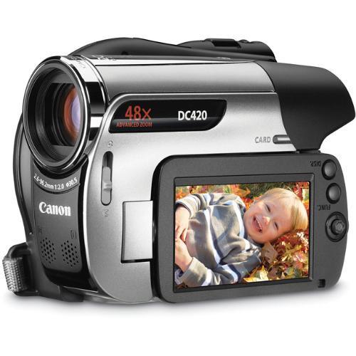 canon dc420 dvd camcorder 3377b001 b h photo video Canon EOS 400D canon dvd camcorder dc201 user manual