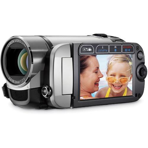 Canon FS200 Flash Memory Camcorder (Misty Silver)