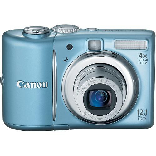 Canon PowerShot A1100 IS Digital Camera (Blue)