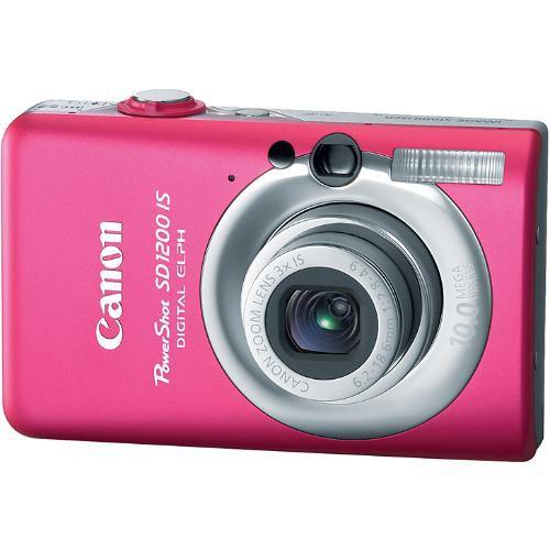 Canon PowerShot SD1200 IS Digital Camera (Pink)