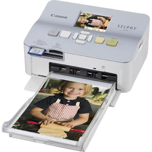 Canon SELPHY CP780 Compact Photo Printer (Silver)
