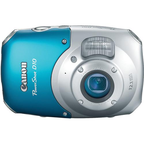 Canon PowerShot D10 Digital Camera