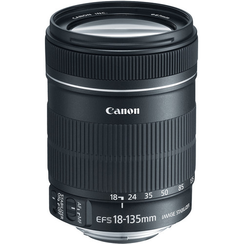 Canon EF-S 18-135mm f/3.5-5.6 IS Lens (White Box)