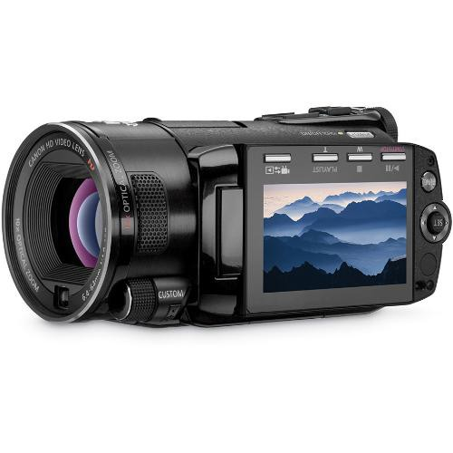 Canon VIXIA HF S10 Dual Flash Memory High Definition Camcorder