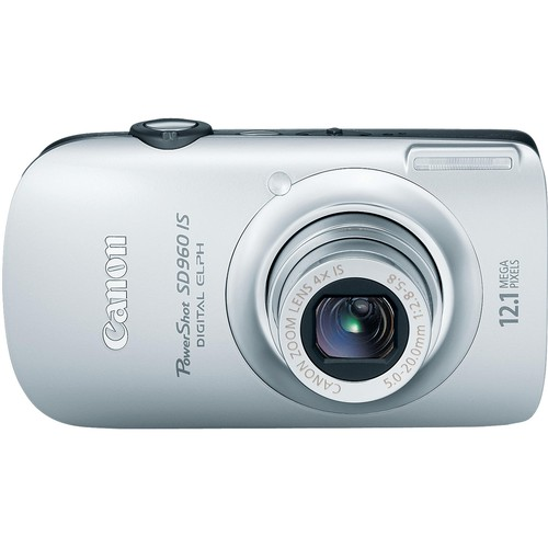 Canon PowerShot SD960 IS Digital Camera (Silver)