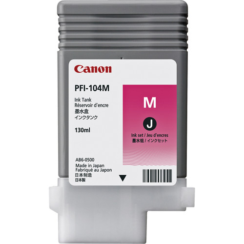 Canon PFI-104M Photo Magenta Ink Tank (130 ml)