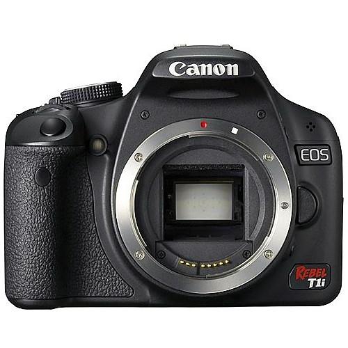 Canon EOS Rebel T1i Digital SLR Camera (Body Only)